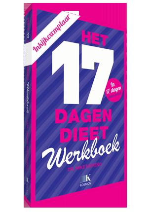 17 dagen dieet werkboek